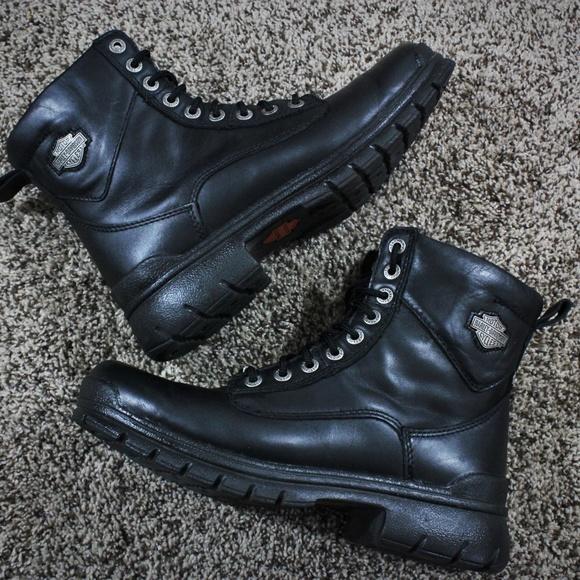 70d728ffc6b Men's Harley Davidson Steel Toe Boots
